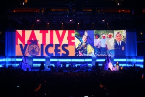 Brule performance, 2011 National FFA Convention