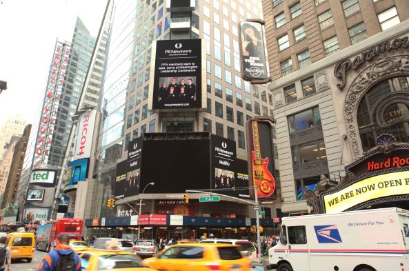 National FFA in Times Square!