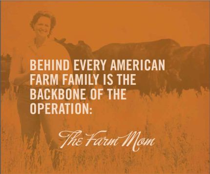 farm mom orange