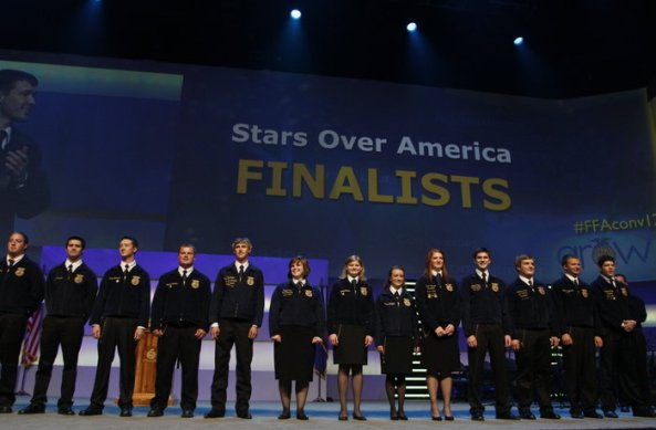 2012 American Stars Finalists at the 86th National FFA Convention & Expo.