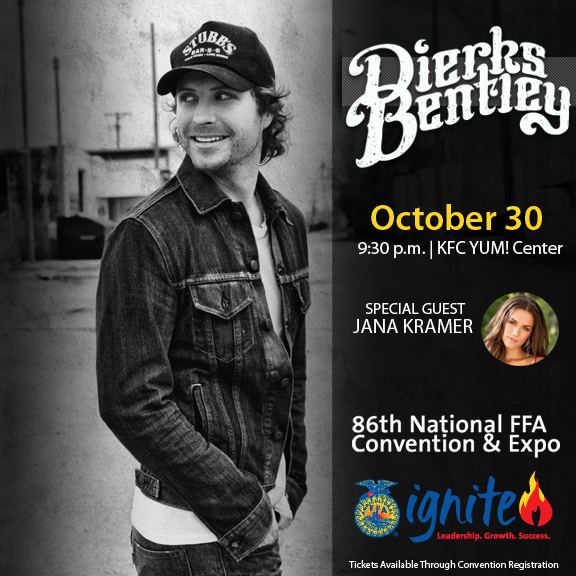 2013 Ffa National Convention http://nationalffa.wordpress.com/2013/08/05/dierks-bentley-to-headline-2013-national-convention-concert/