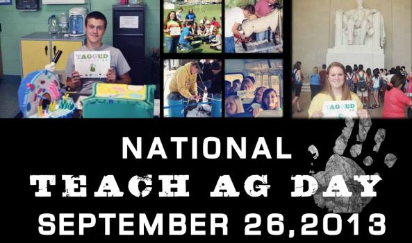 nation teach ag day head