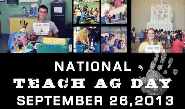 nation teach ag day head
