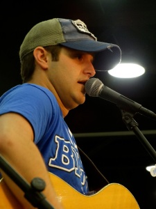 Corbin played a special acoustic concert for FFA members Wednesday in the National FFA Expo.