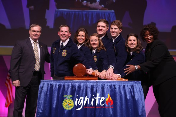 National FFA Convention & Expo opened on Wednesday.