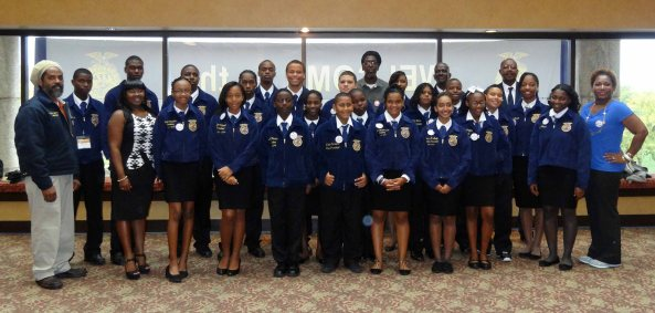 FFA members from the Virgin Islands attend the National FFA Convention & Expo for the first time in 15 years.