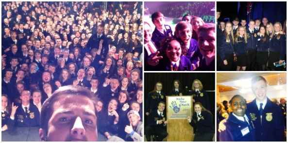 Photos from state FFA conventions around the country!