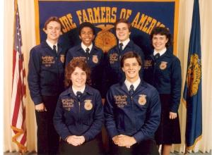 1982-83 National FFA Officer Team